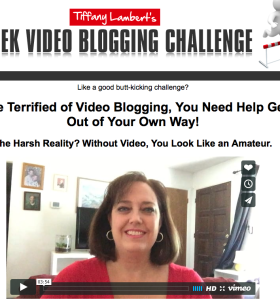 Tiffany Lambert Video Blogging Challenge Review Bonus